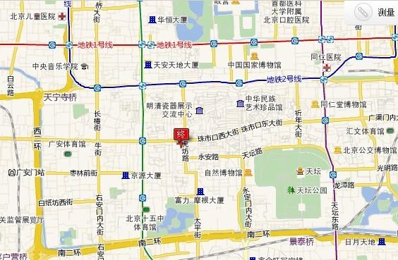 京城第一会馆--湖广会馆大戏楼