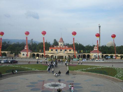 石景山游乐园南门图片2