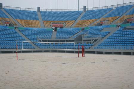 朝阳公园沙滩排球场图片1