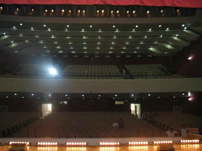 首都机场国门文化中心剧场图片-内部图