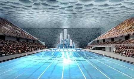水立方(国家游泳中心)图片-内部图