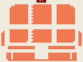 首都剧场(北京人民艺术剧院)座位图