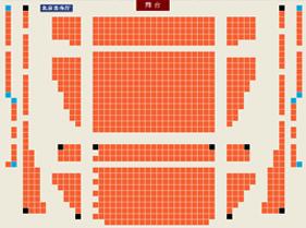 北京音乐厅座位图