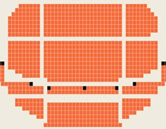 海淀剧院座位图