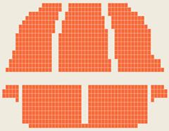 天桥剧场座位图