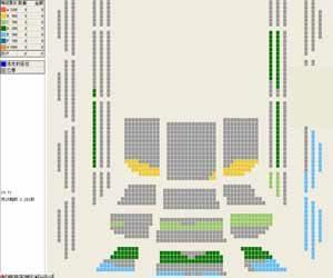 国家大剧院音乐厅座位图