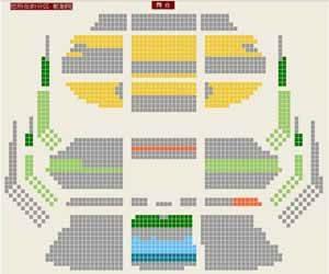 国家大剧院歌剧院座位图