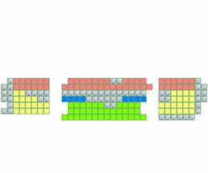 八一剧场座位图