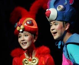 大型音乐童话剧《小兔快跑》