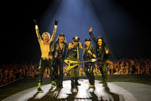 蝎子乐队演唱会北京站