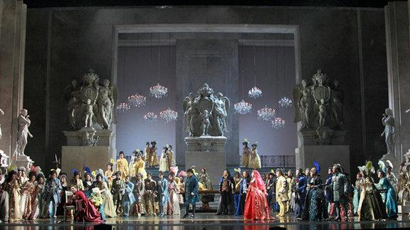 国家大剧院制作歌剧假面舞会