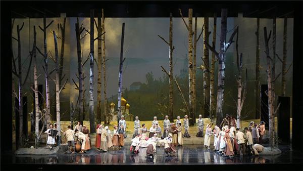 国家大剧院制作歌剧这里的黎明静悄悄