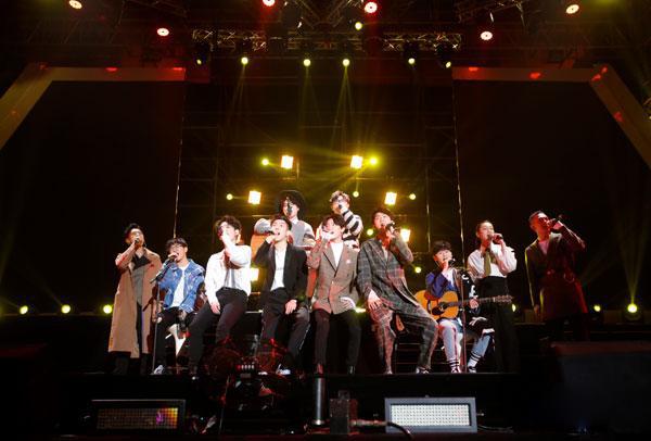明日之子演唱会