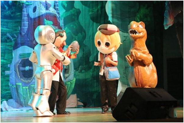 儿童剧寻梦恐龙岛