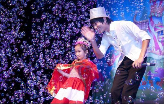 儿童剧3D魔幻泡泡秀泡泡王子的舞会门票