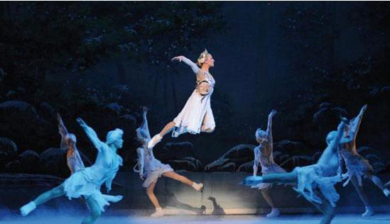 北京芭蕾舞冰上天鹅湖