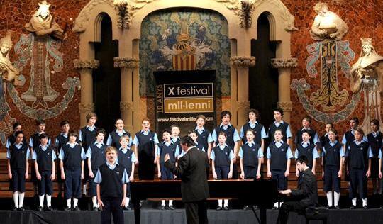 法国圣马可童声合唱团北京音乐会