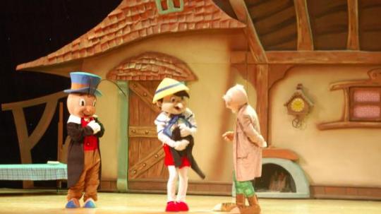 儿童剧木偶奇遇记