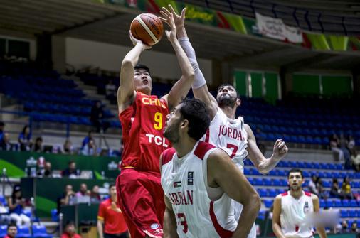 国际篮联篮球世界杯中国VS约旦