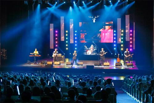 鹿先森乐队演唱会