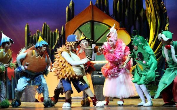 音乐儿童剧我们都带刺奇尼和小伙伴们