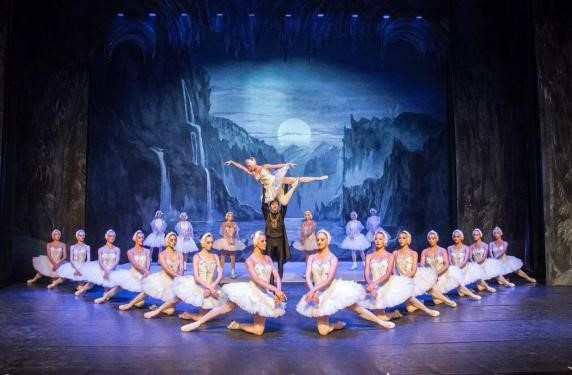 俄罗斯芭蕾舞《天鹅湖睡美人》