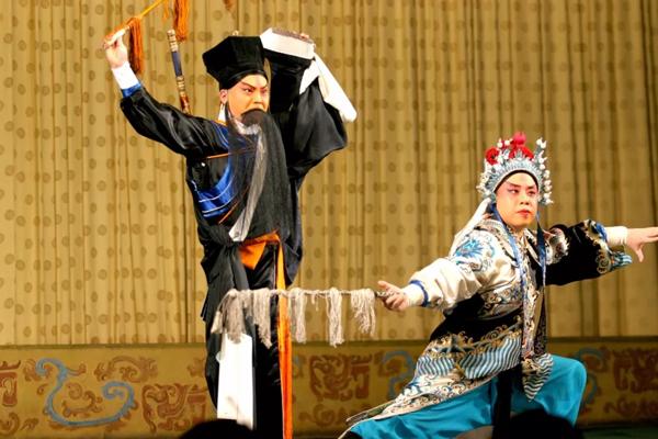 北京梨園劇場演出觀陣