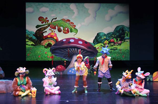 動漫人偶童話劇披上狼皮的羊