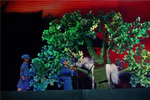 大型原创木偶剧红军的战马