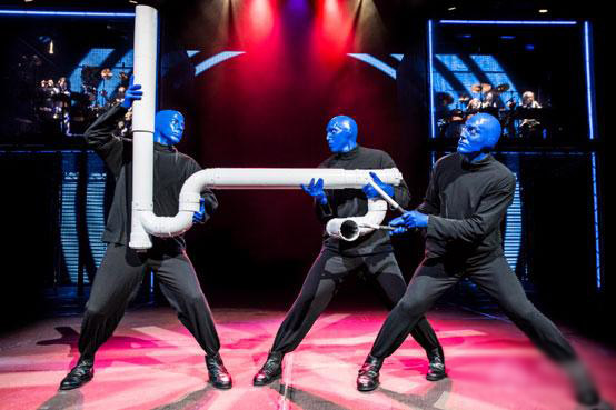 纽约体验式大秀蓝人秀门票