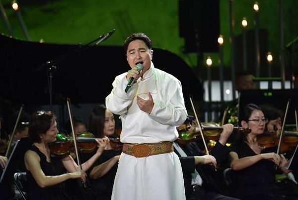 华语音乐颁奖盛典之呼斯楞