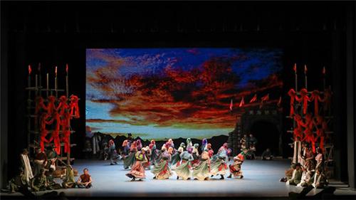 国家大剧院制作舞剧天路