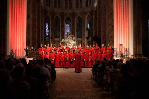 丹麦罗斯基勒大教堂童声合唱团音乐会