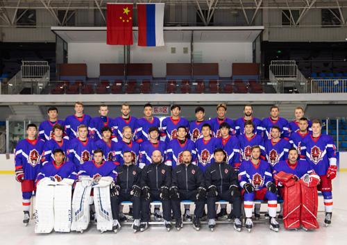 絲路杯冰球超級聯賽奧瑞金全隊