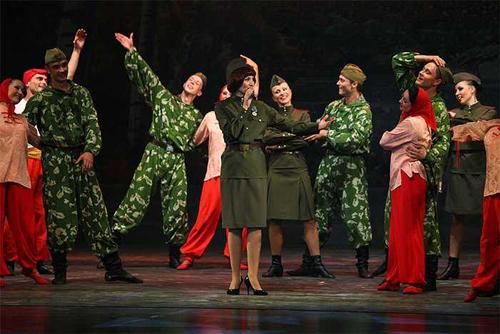 记忆的白桦林俄罗斯经典歌舞晚会