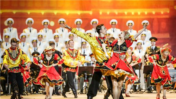 俄罗斯亚历山大红旗歌舞团巡演