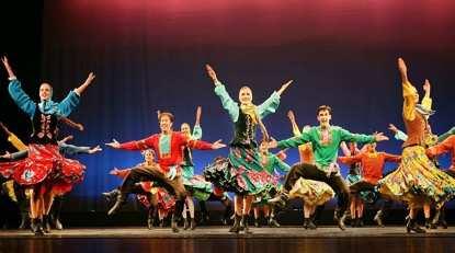 藍光之夜俄羅斯萬花筒國立舞蹈團新春賀歲巡演