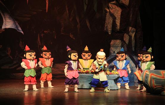 兒童舞臺劇葫蘆兄弟