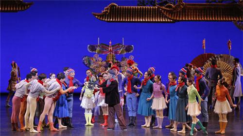 芭蕾舞剧过年