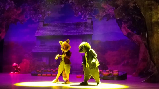 儿童剧比得兔之动物狂欢节