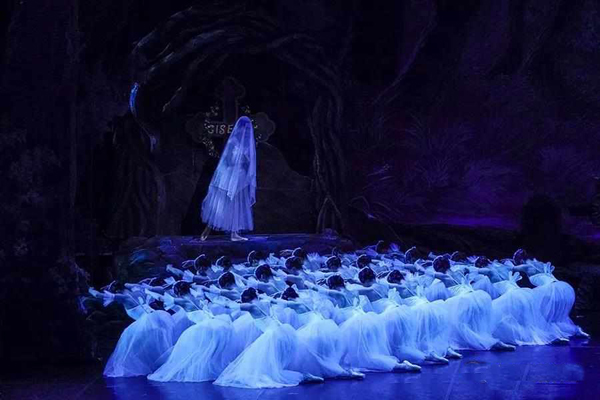 中央芭蕾舞团芭蕾舞吉赛尔