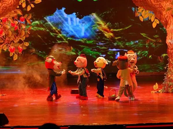 儿童舞台剧三只小猪