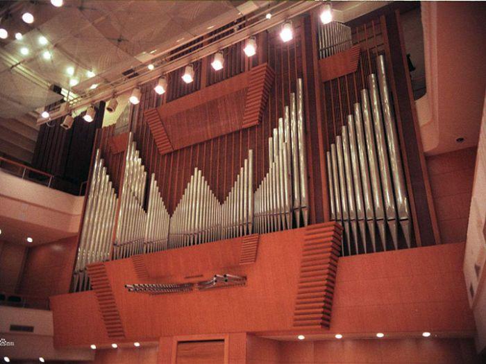 北京音乐厅场内装饰照