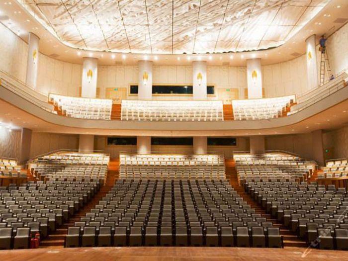 国家大剧院音乐厅场馆图