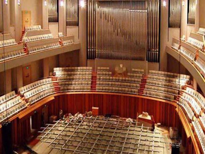 国家大剧院音乐厅内部装饰照