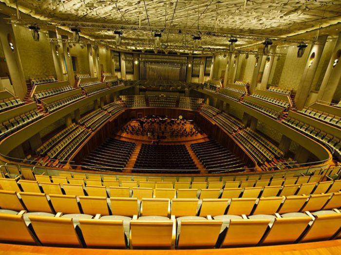 国家大剧院音乐厅内部全面照