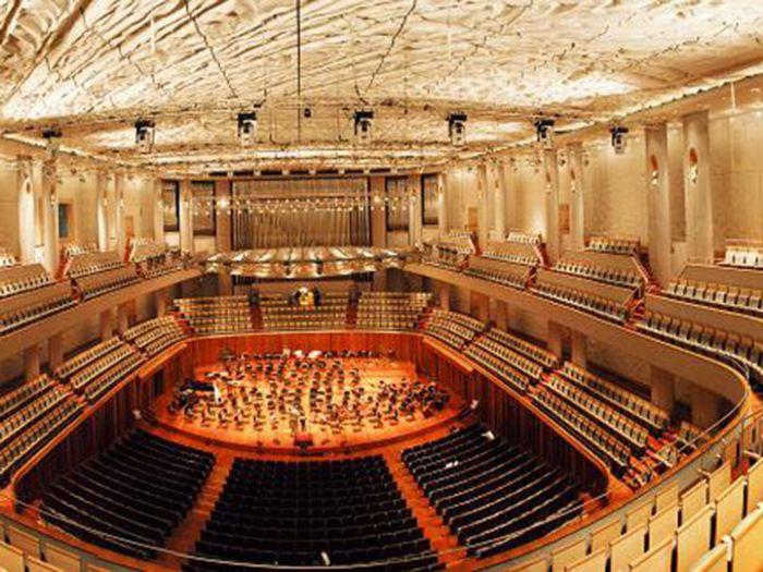 国家大剧院音乐厅场内规划照