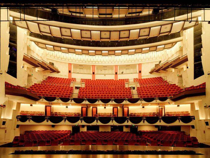 梅兰芳大剧院内部图
