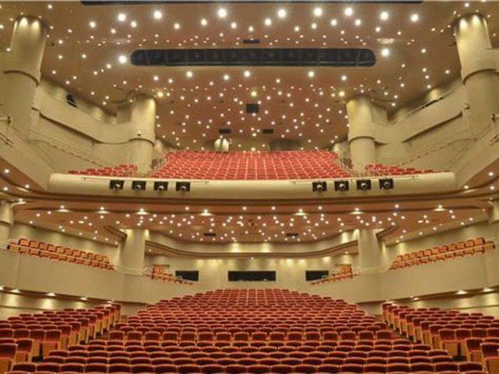 北京喜剧院内部座位图