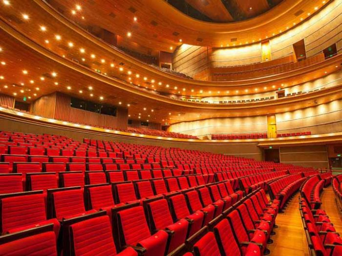 首都剧场内部座位照